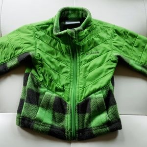 Columbia fleece jacket sz 6-12 mo